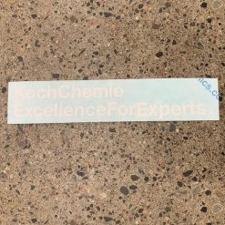 Klistremerke – Koch-Chemie 15cm